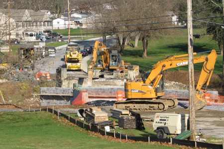 As deadline passes, Old Mill Road bridge replacement project in Ephrata PA remains unfinished