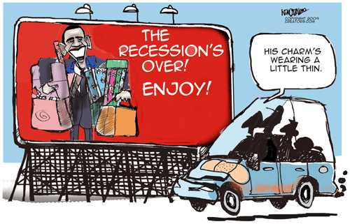 Obama Recession is over