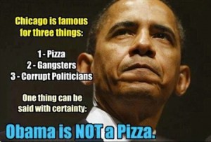 Obama is not a pizza